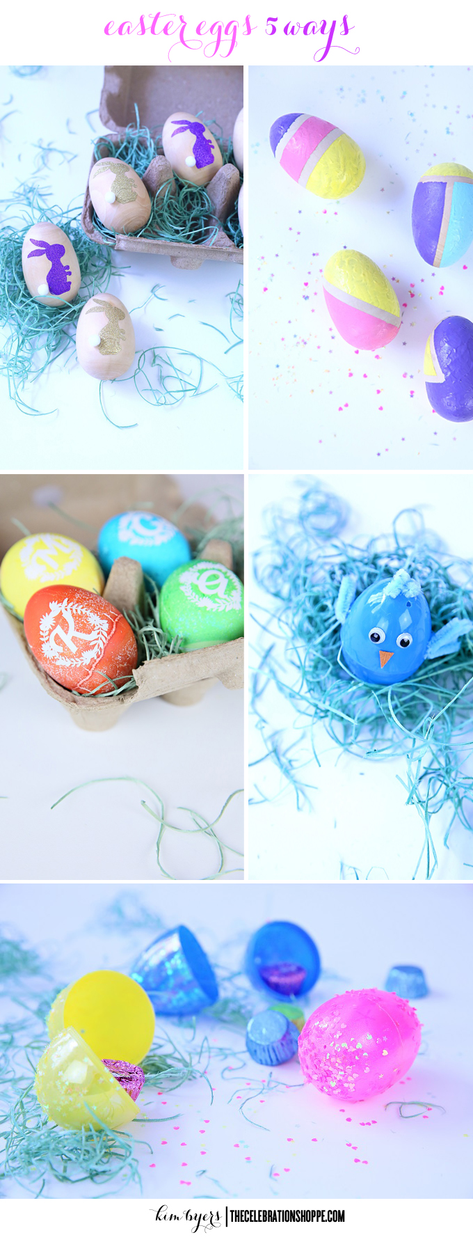 Easter Eggs 5 Ways | Kim Byers