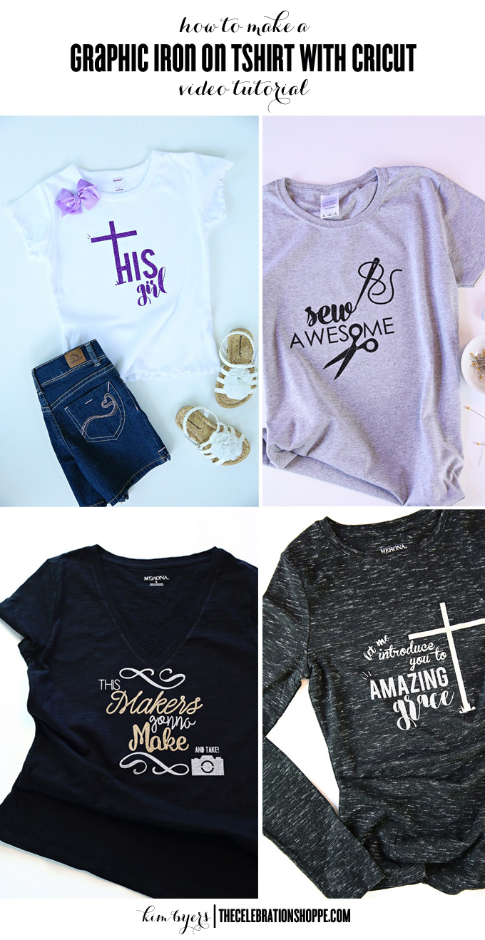 How To Make An Iron On Graphic TShirt | Kim Byers