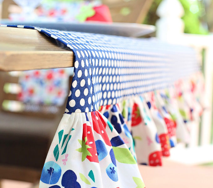 4 how to sew a ruffle tablecloth kim byers 8574wl