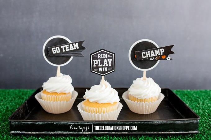 Sports Cupcakes | Kim Byers