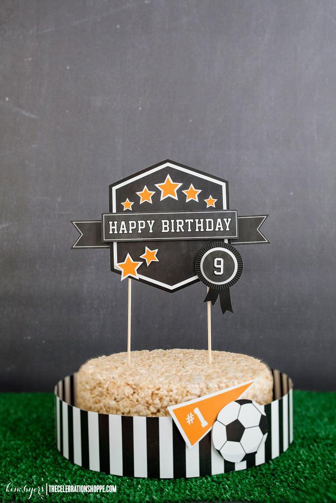 Decorate A Sports Cake | Kim Byers