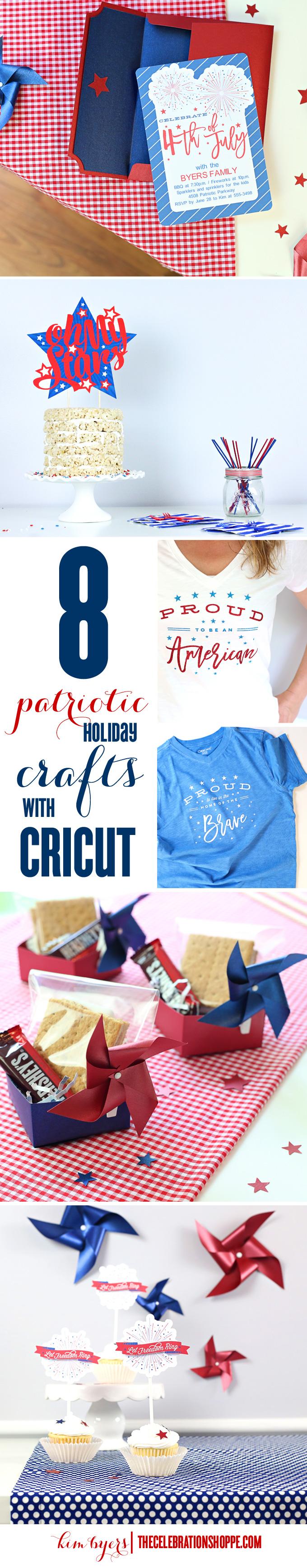 8 Patriotic Cricut Crafts | Kim Byers