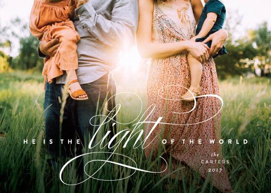 Eternal Light Religious Card | Minted