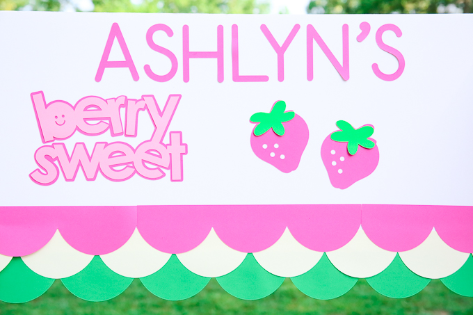 Paper Craft Fruit Stand | Kim Byers