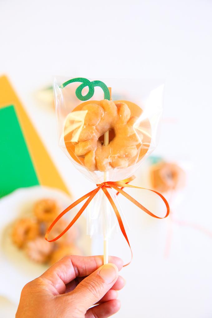 Pumpkin donut treat bag kim byers 0225