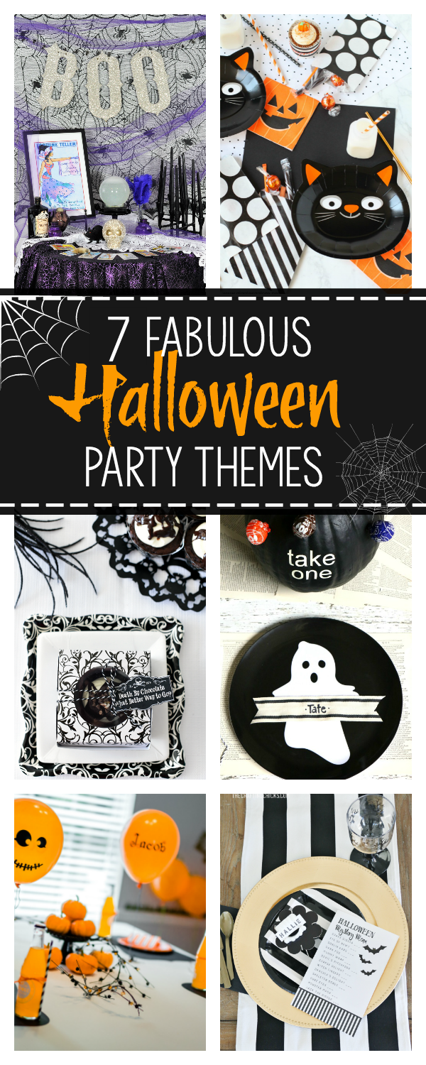 7 Halloween Party Themes