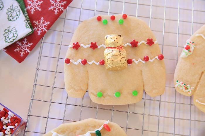 Ugly Sweater Cookie Invitations