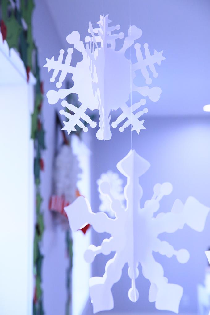 Giant Paper Snowflakes | Kim Byers