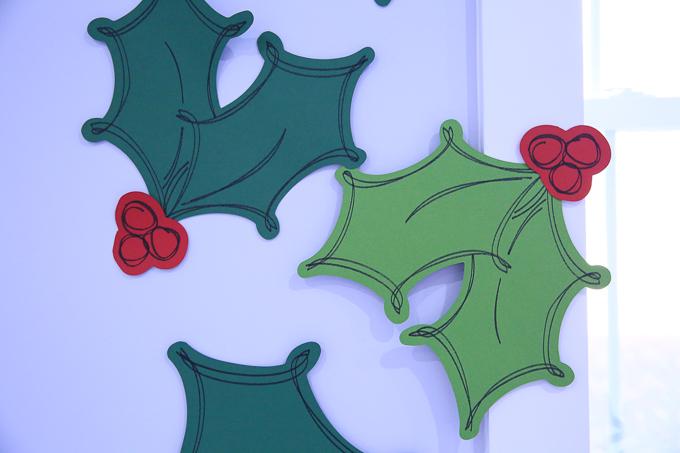 Make Oversized Christmas Holly | Kim Byers