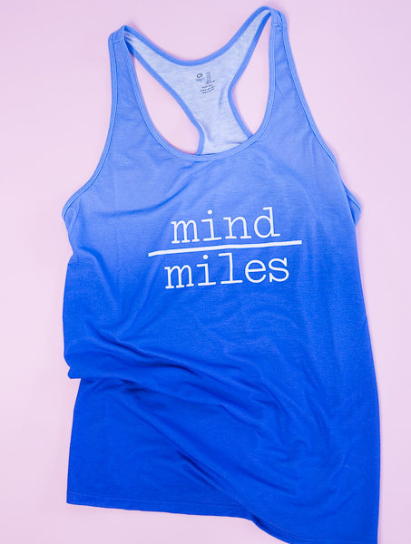 Mind over miles graphic tee kim byers 0649