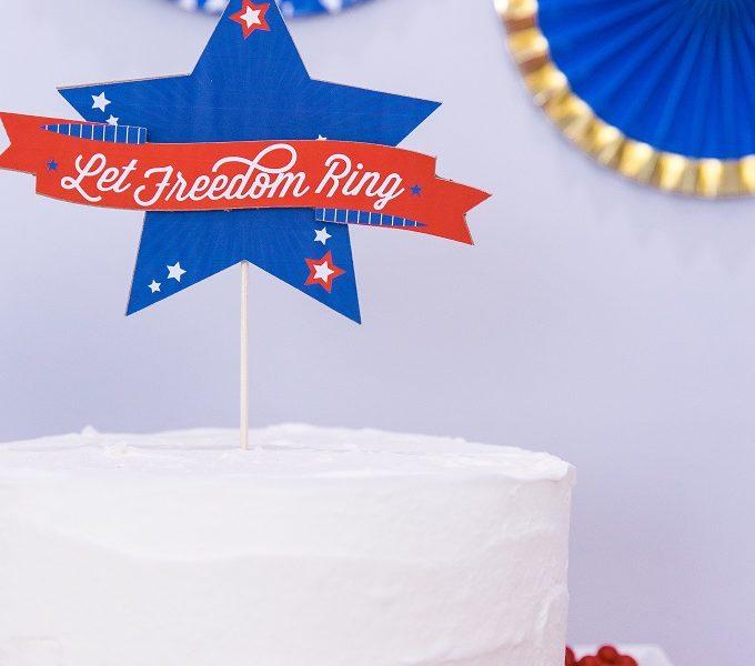 1 cake topper 4th july kim byers 713sm