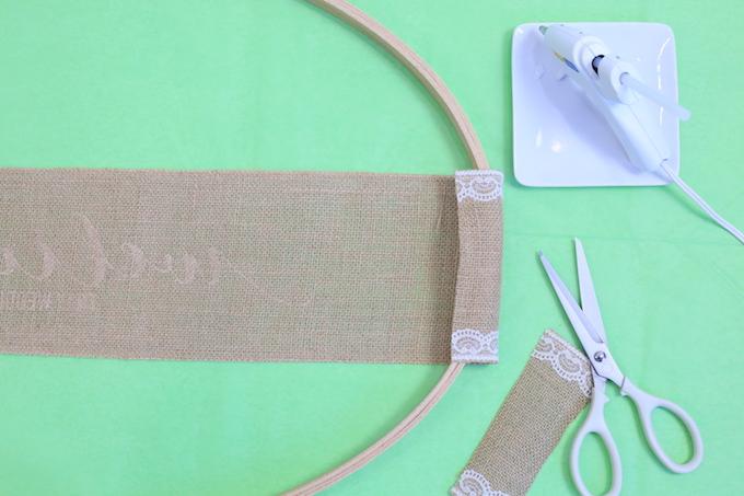 Make A Wedding Sign With Burlap | The Celebration Shoppe