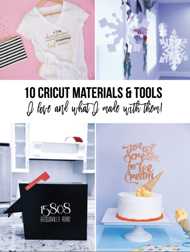 10 Cricut Tools And Materials I Love | Kim Byers
