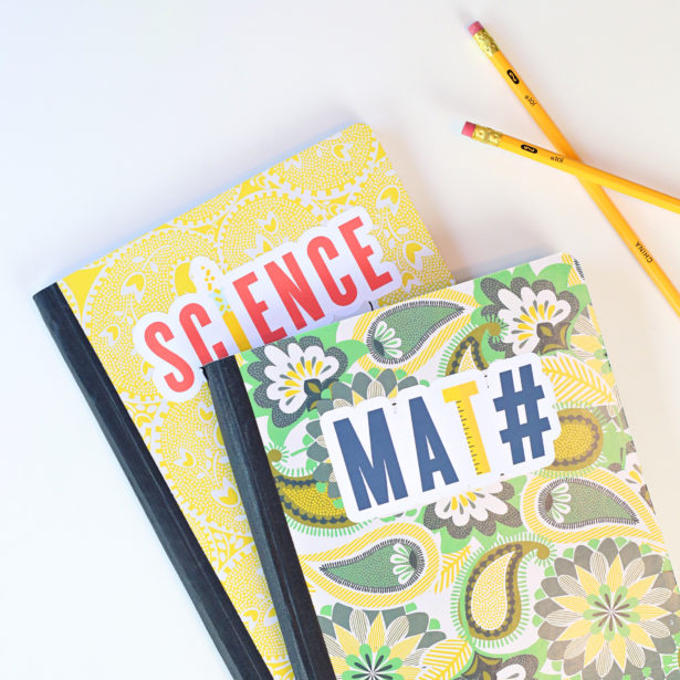 Back to School Notebook Stickers | Kim Byers