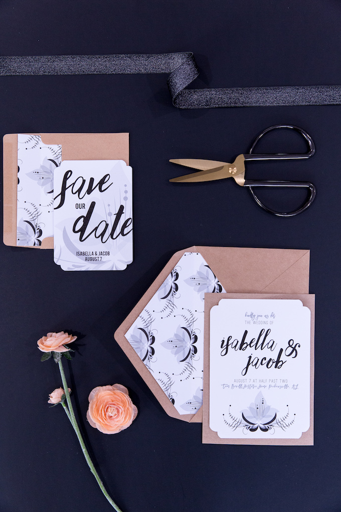 Wedding Invitation And Save The Date With Cricut | Kim Byers
