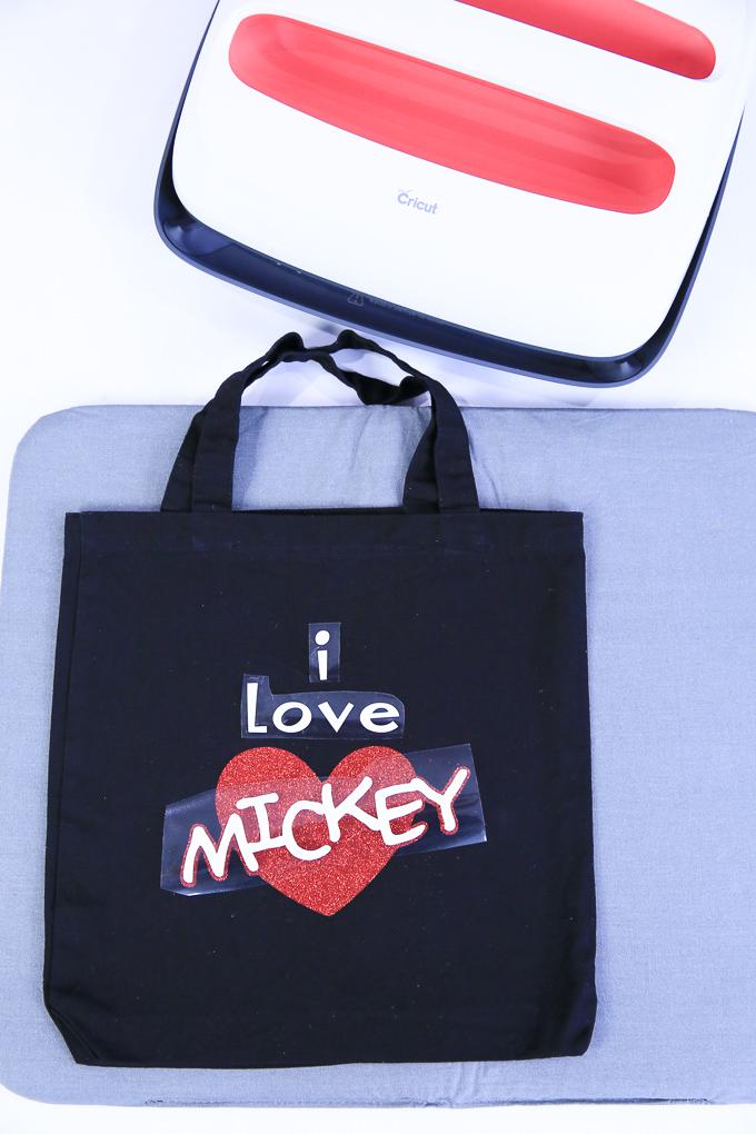 DIY I Love Mickey Halloween Trick or Treat Bag