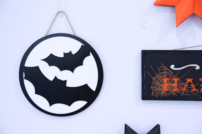 Cricut Maker Chipboard Bat Sign