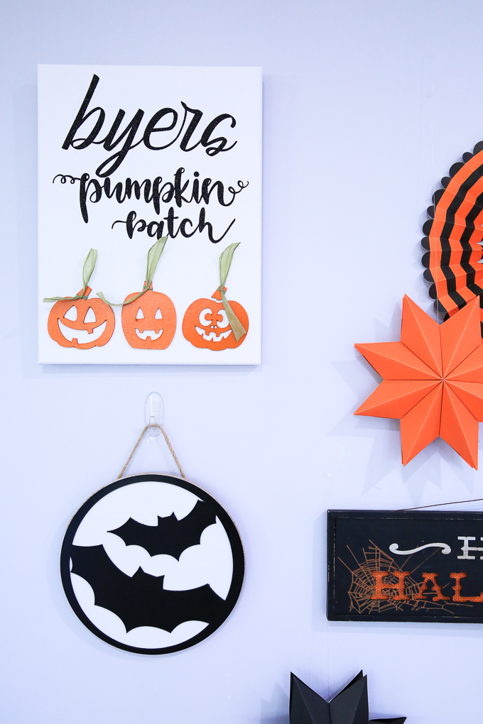 Halloween Projects With Cricut Chipboard