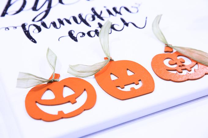 Cricut Knife Blade Pumpkin Patch