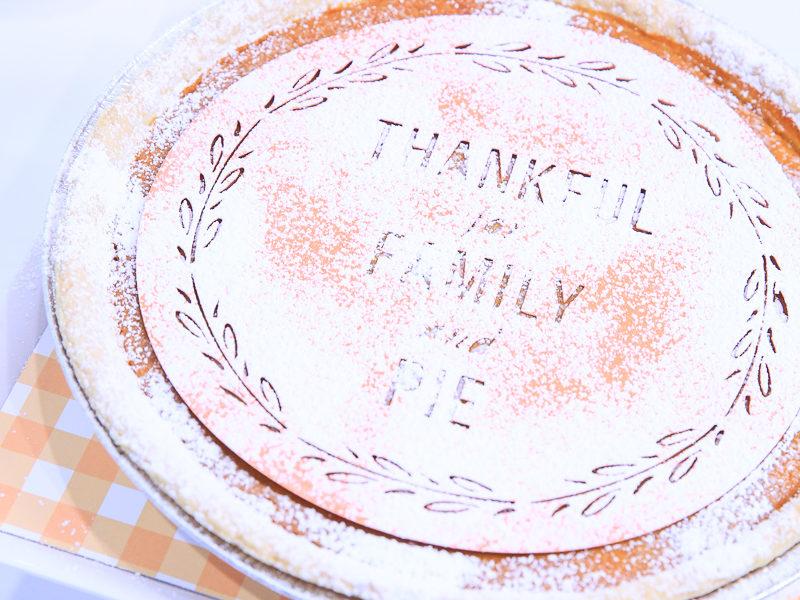 Thanksgiving Pumpkin Pie Stencil   Kim Byers