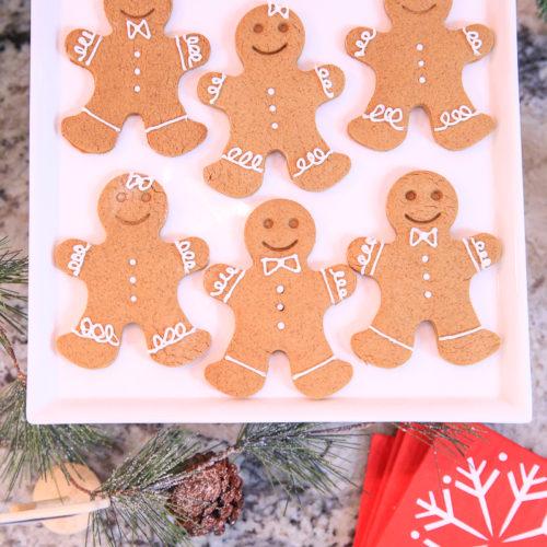 homemade gingerbread cookie recipe  kim byers