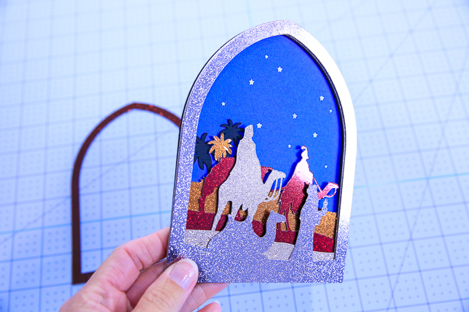 Assembled We Three Kings Christmas Card Assembled | Kim Byers