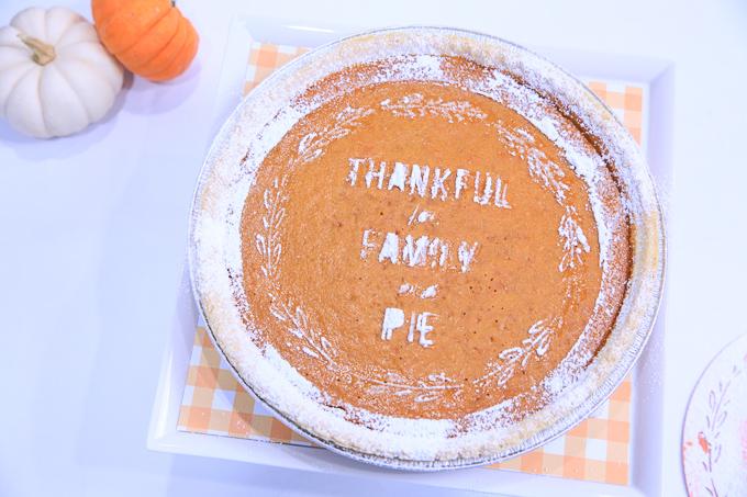 Thanksgiving pumpkin pie   Kim Byers