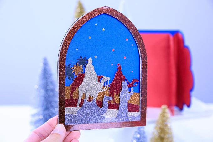 We three kings christmas card kim byers
