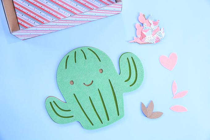 Diy cactus valentine box kim byers
