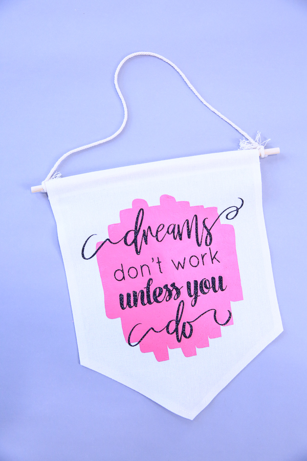 Dreams SVG Cut File - Make an inspirational wall hanging for your office!