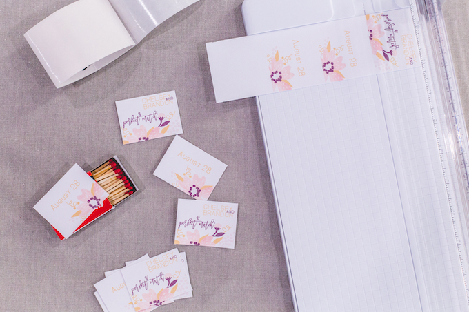 Make DIY Matchbox Wedding Favors