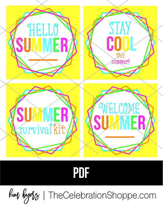 Summer Gift Tag Kim Byers Wf 1