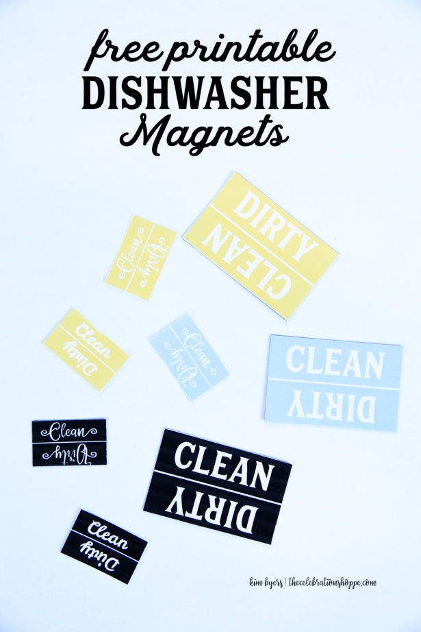Dishwasher Magnets Kim Byers