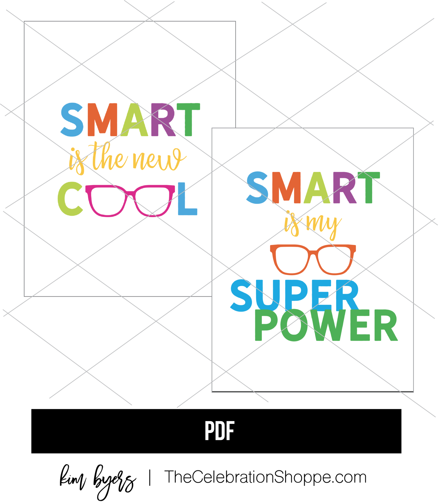 Smart Is Cool Printables Kim Byers