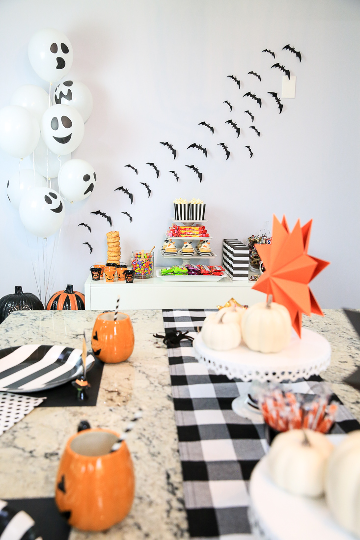Black White Halloween Party Ideas Kim Byers