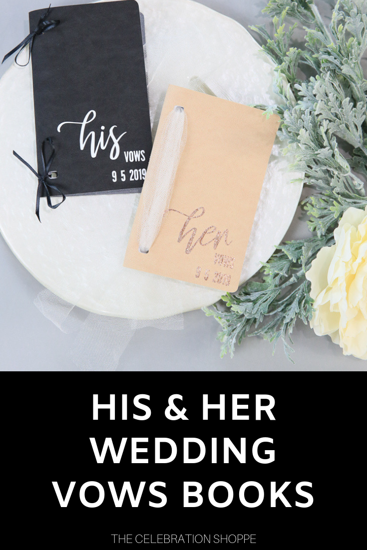 Cricut Wedding Vows Books
