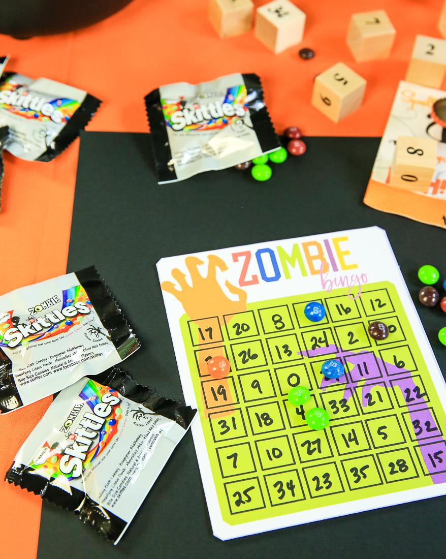 Free Printable Zombie Bingo Cards   Halloween Party Ideas with Kim Byers at The Celebration Shoppe
