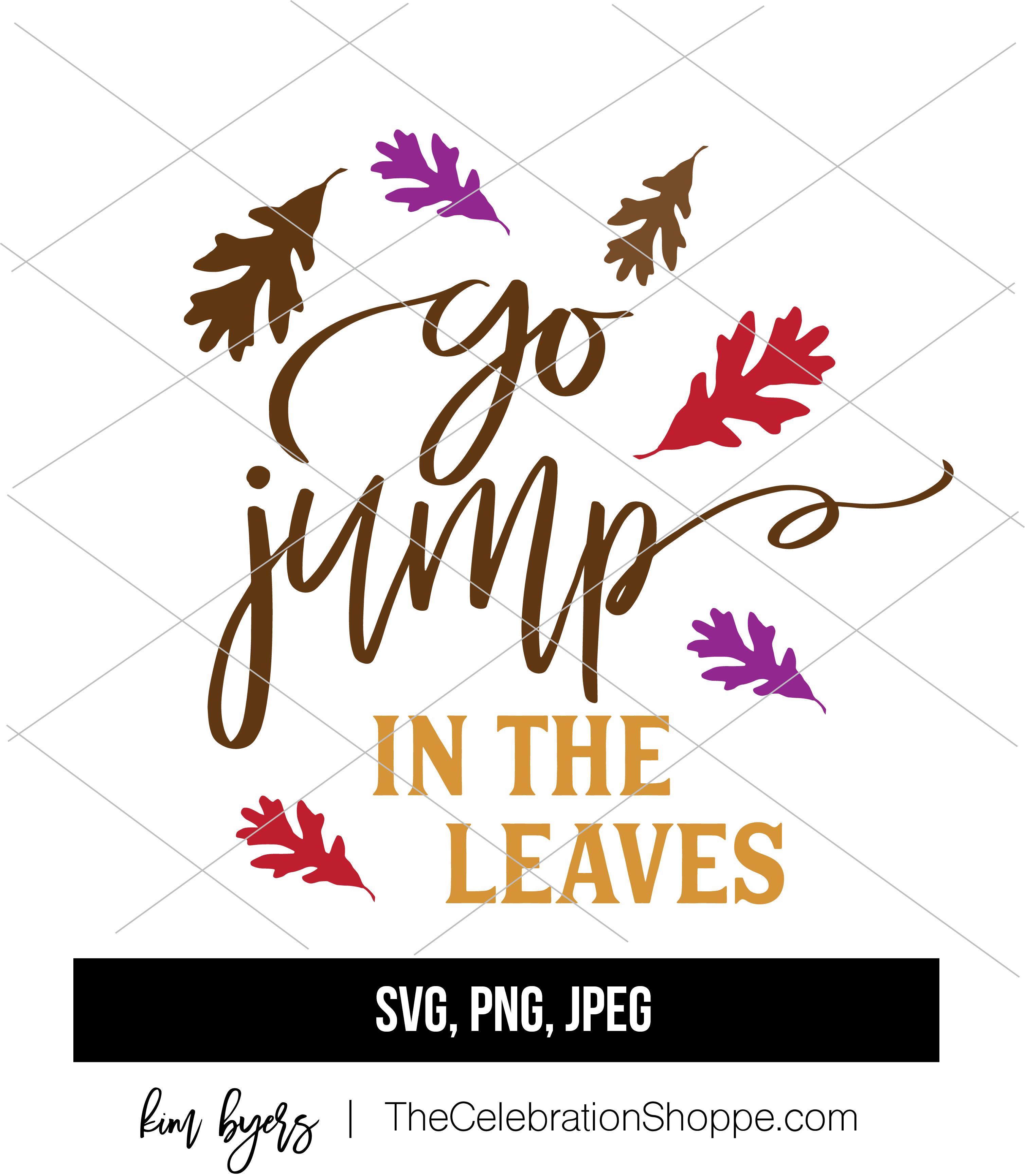 Leaves SVG | Designed by Kim Byers