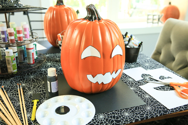 Painting Pumpkin Ideas Halloween Kim Byers