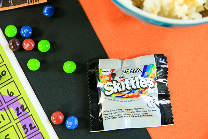 Zombie Skittles Candy   Halloween Party Ideas with Kim Byers at The Celebration Shoppe