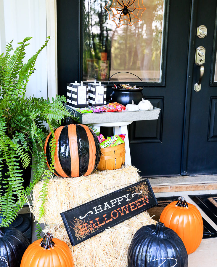 Halloween Front Porch Kim Byers