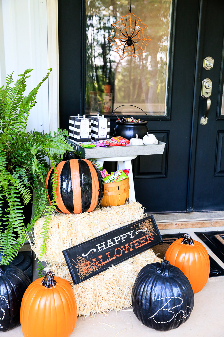 1 Halloween Front Porch Kim Byers