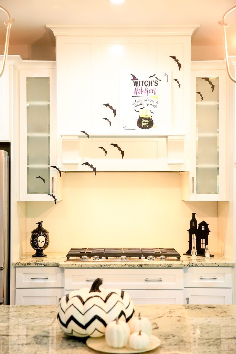 Halloween Kitchen Decorations | Cricut Crafting with Kim Byers at The Celebration Shoppe
