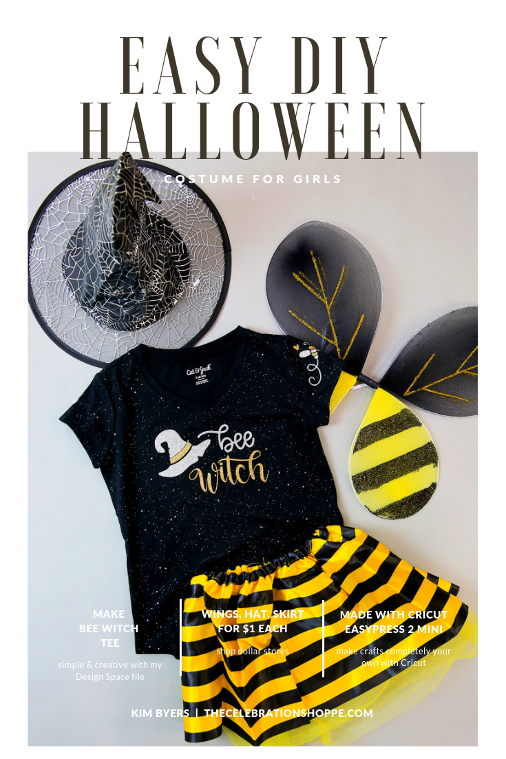 Bee Witch Halloween Costume For Girls