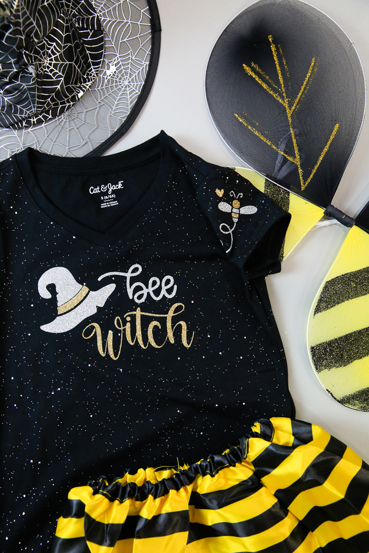 Bee Witch Halloween Tshirt Kim Byers