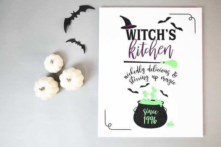 Halloween Sign Cricut Kim Byers