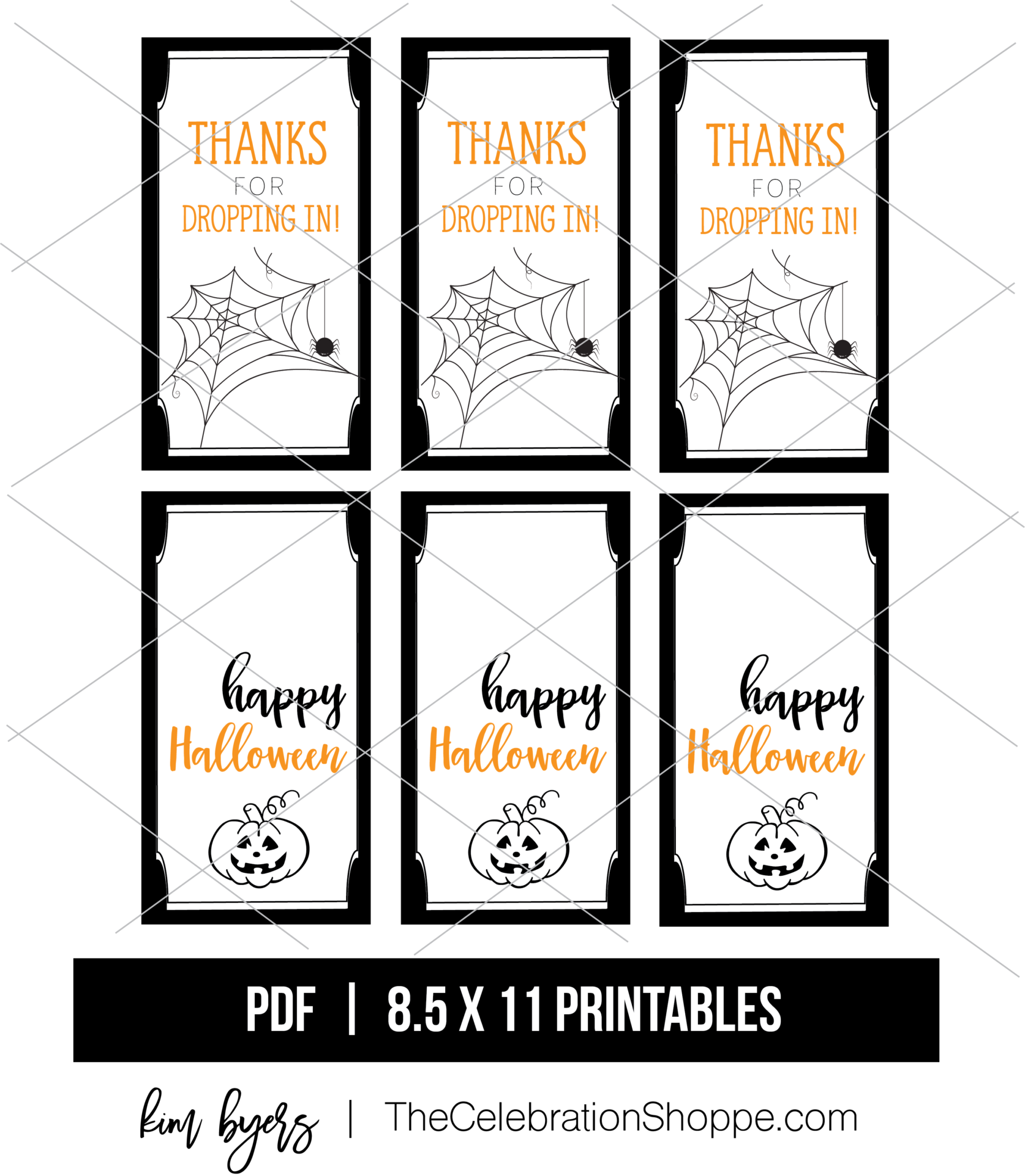 Halloween Tags Download Kim Byers