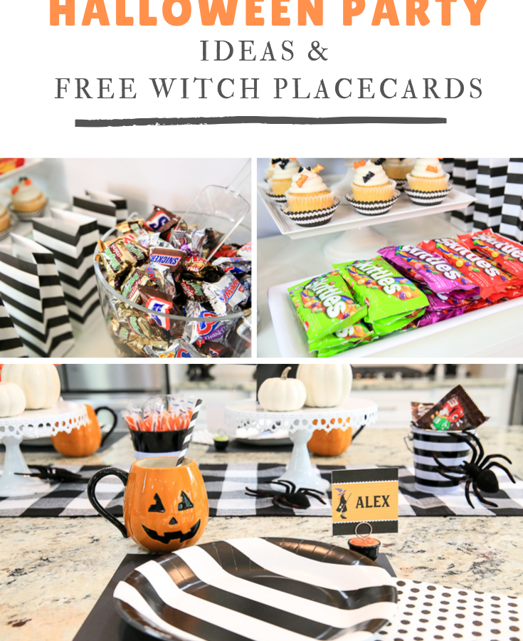 Free Witch Placecards Kim Byers