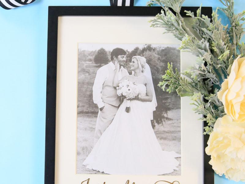 Just Married Wedding Keepsake Kim Byers