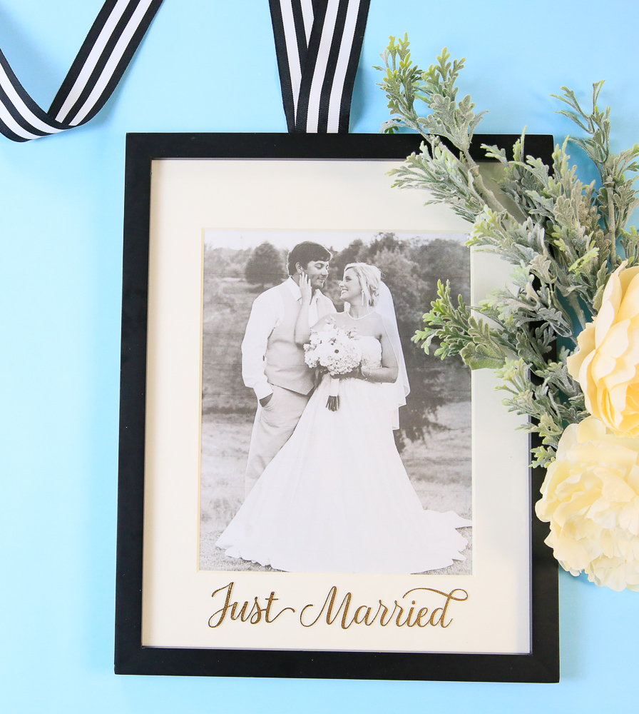 Just Married Wedding Keepsake Kim Byers